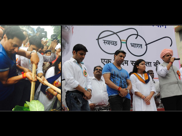 Kapil Sharma Joins Swachh Bharat Abhiyan