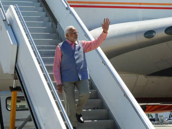 Narendra Modi Arrived In Sydney