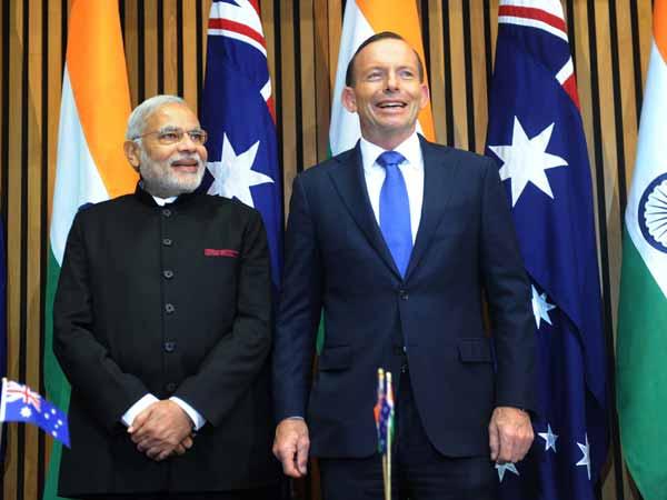 India Australia Ink Five Mous During Pm Modi S Visit