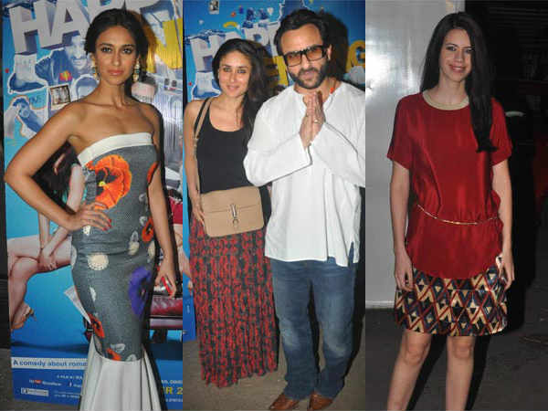 Special Screening Happy Ending Saif Ali Khan Ileana D Cruz