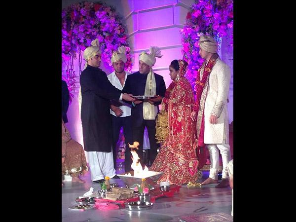 Inside Pics Arpita Khan Aayush Sharma Wedding Hyderabad Falaknuma Palace
