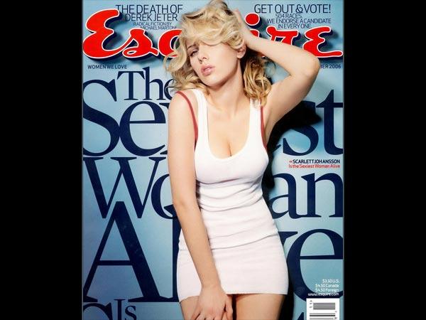 Scarlett Johansson Birthday Hottest Magazine Covers