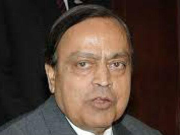 Former Union Minister Senior Congress Leader Murli Deora Dead