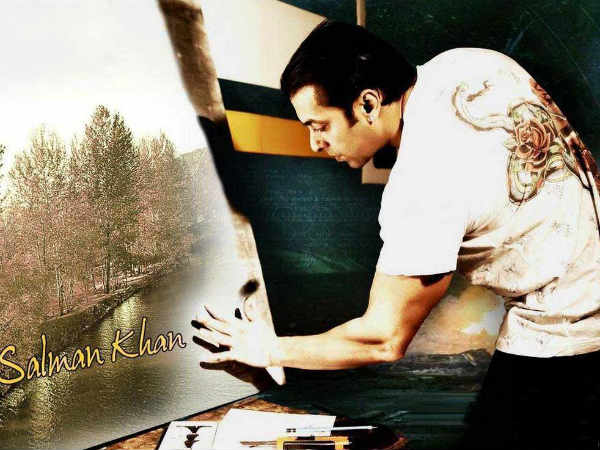 Salman Khan Is Back With His Love Painting Sessions