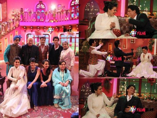 Shahrukh Anupam Kher Kajol Celebrates 1000 Weeks Of Ddlj