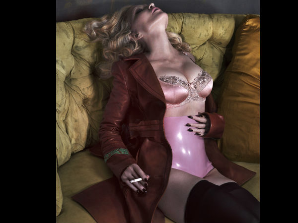 Madonna Bares It All Does A Racy Shoot For Interview Magazine