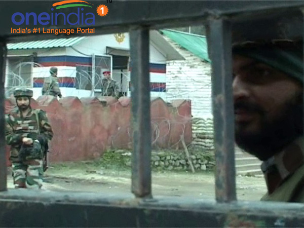 Photo Terrorists Attack Army Camp J K 5 Jawans 2 Cops Killed