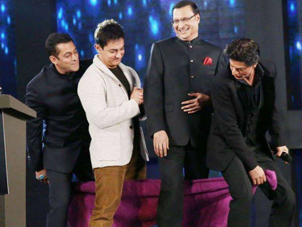 Photo Shah Rukh Salman Aamir Khan Come Together For Aap Ki Adalat
