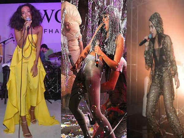 Art Basel Miami 2014 Kim Kardashian Miley Cyrus And Others In Pics