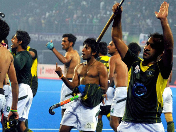 Pakistani Players Suspended Making Obscene Gestures After Win Over India