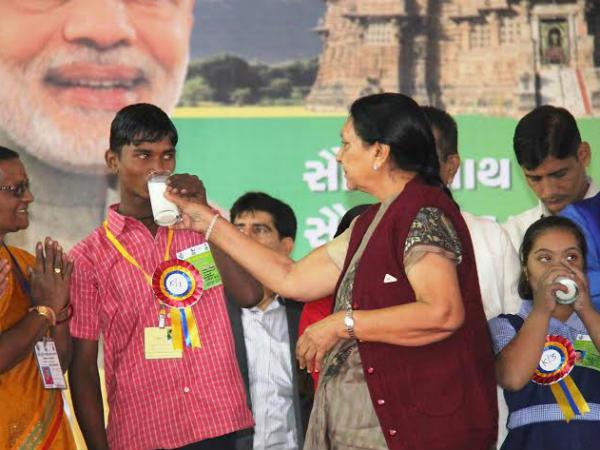 Cm Anandiben Patel Inaugurate Krushi Fair Modasa