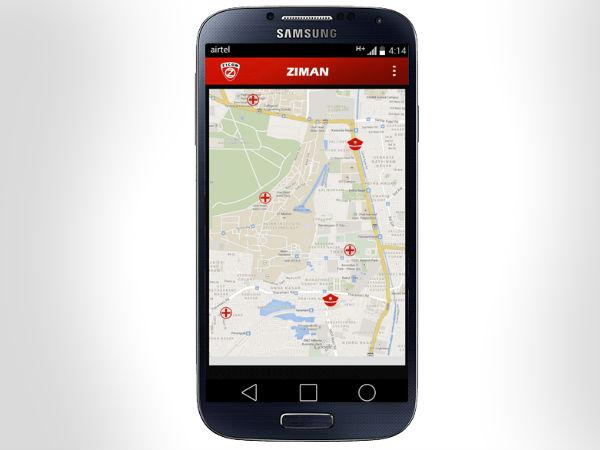 New App Ziman Women S Safety Launched