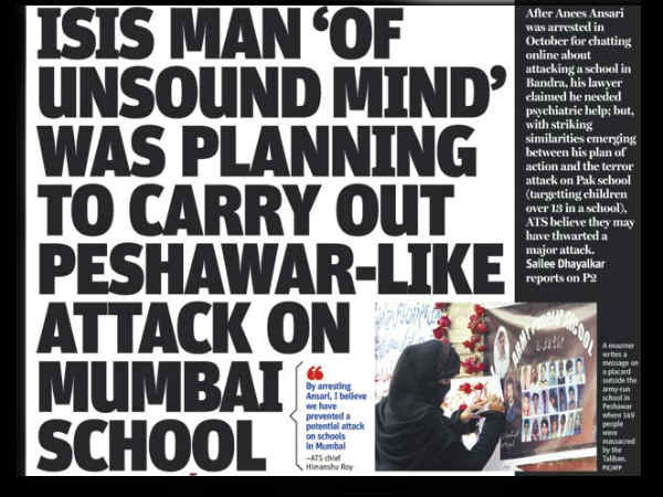 Tweet Alert Gujarati People Mumbai Are On Target Of Isis