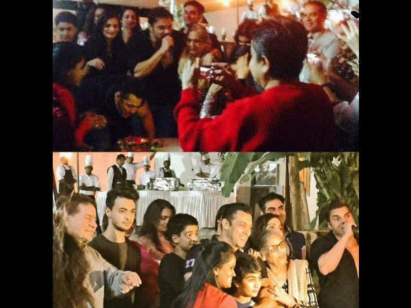 Shahrukh Khan Close Friends Attended Salman Khan Birthday Party