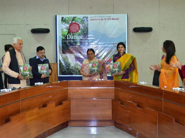 Dangs The Little Known Paradise India Book Released Gujarat Cm