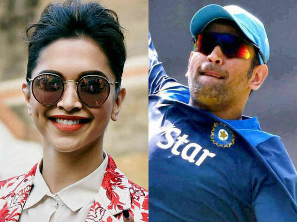 Deepika Padukone Did Not Comment On Dhoni Retirement From Test Cricket