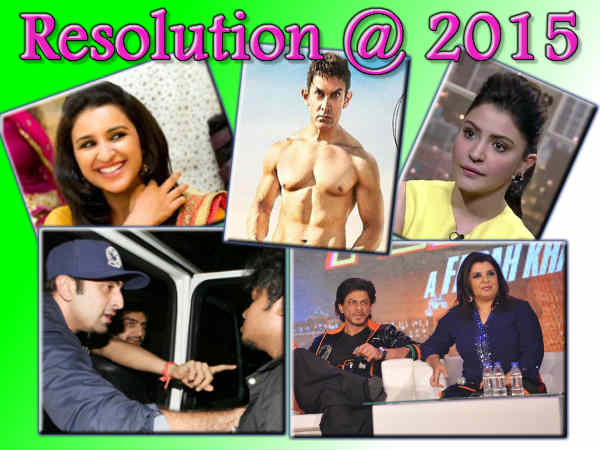 Year 2015 New Year Resolutions Our Bollywood Stars