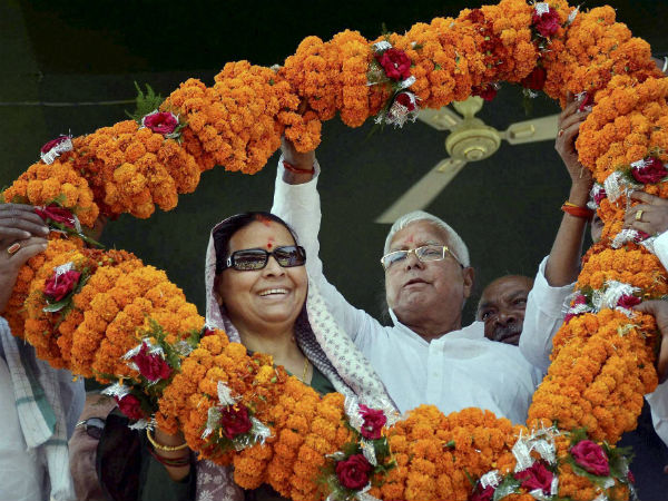On New Year Lalu Prasad Yadav Has Rose Rabri Advice Jitan Ram Manjhi