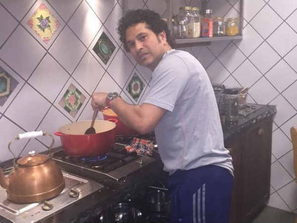 Sachin Tendulkar Shares His Baigan Bharta Cooking Pics On Social Media
