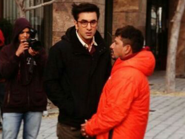 Ranbir Kapoor New Look From Jagga Jasoos