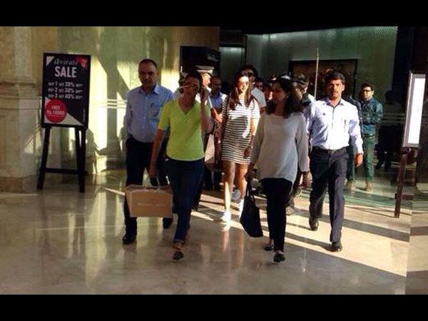 Snapped Deepika Padukone Ranveer Singh