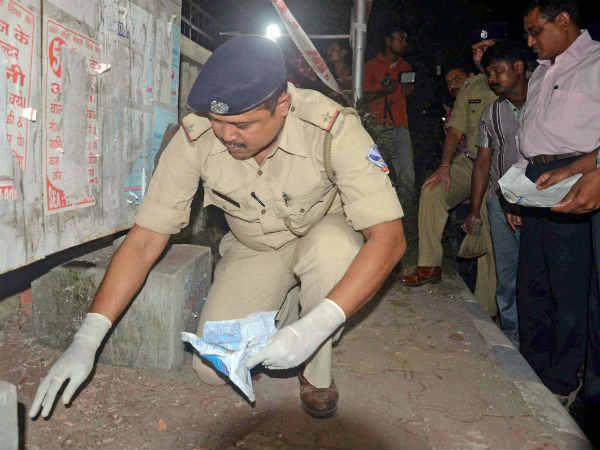 Crude Bomb Blast At Dum Dum Railway Station Kolkata 3 Injured