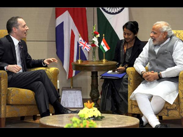 Narendra Modi Meed Delegations Before Vibrant Gujarat Summit Starts