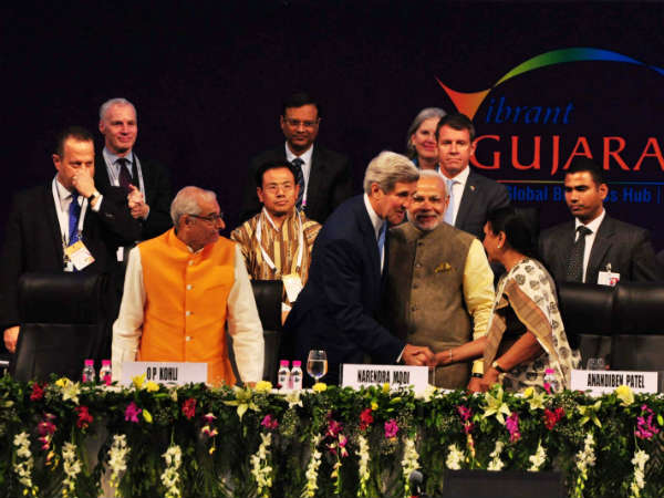 Vibrant Gujarat Summit First Day Of The Global Brands Millions Rainy Incinerate