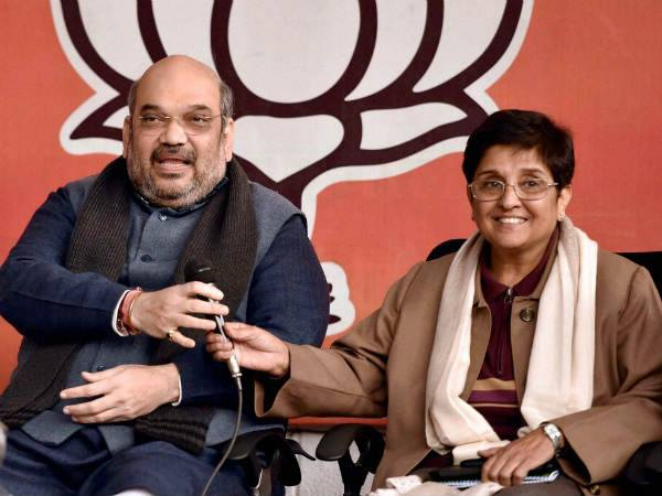 Bjp Declares Kiran Bedi As Party S Cm Candidate