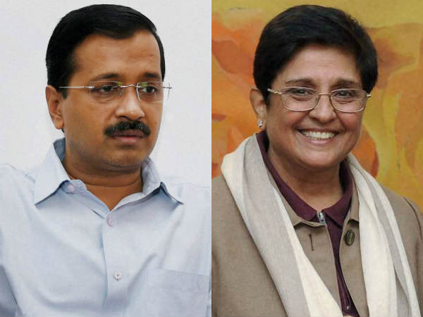 Internal Survey Gives Aap Edge But Leaders Wary Kiran Bedi Fallout