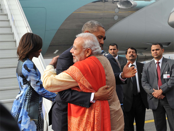 Modi Obama Hug Tremors Felt Pakistan