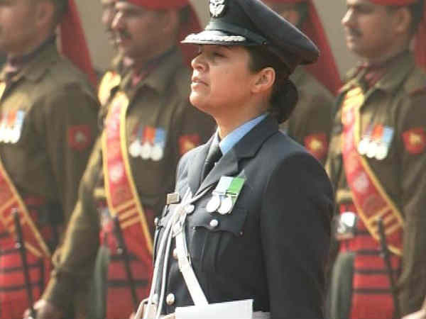 Wing Commander Pooja Thakur Leads The Guard Honour Barack Obama