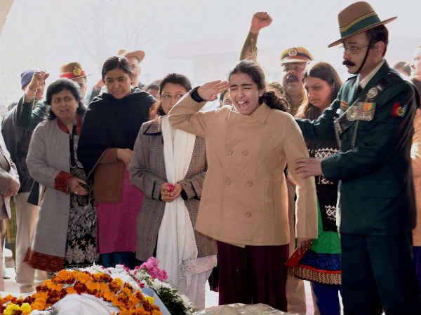 Colonel Mn Rai S Cremation The Delhi