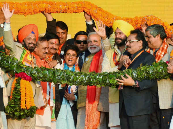 Bjp Releases It Vision Document Delhi Election