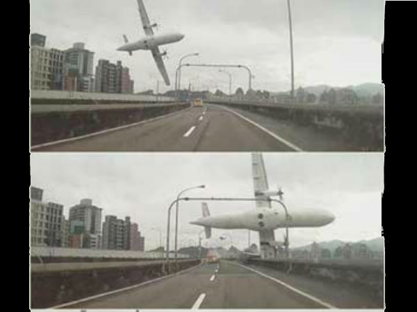 Video Transasia Airways Plane Crashed Into River