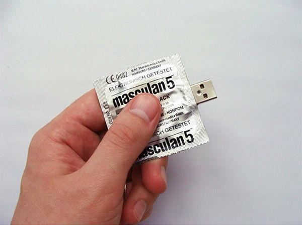 Condom USB Flash