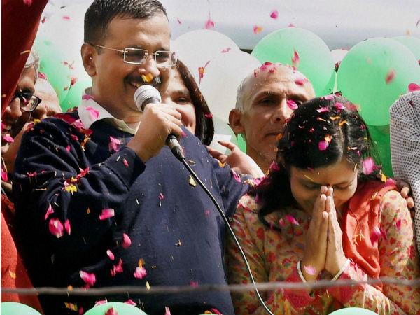 Arvind Kejriwal Said Meet This Is My Wife