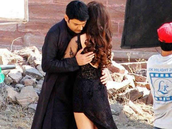 Kapil Sharma Shoots With Manjari Phadnis Romantic Scenes