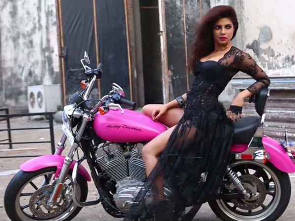 Priyanka Chopra Making Of Filmfare Cover