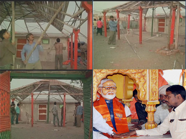 Lac S Namo Temple Become Past After Modi S One Tweet