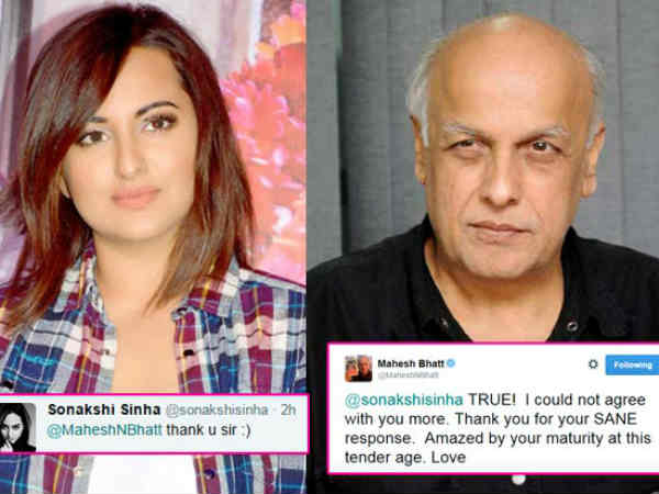 Cold War Over Aib Between Mahesh Bhatt And Sonakshi On Twitter