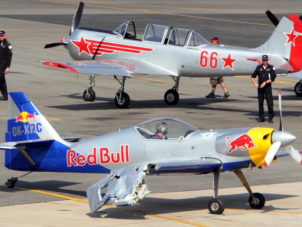 Bengaluru Accident Averted At The Aero Show Redbull Crash