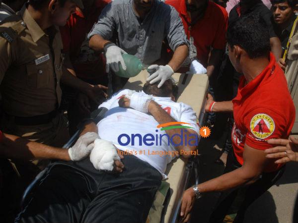 Man Crucifies Himself Demanding Jayalalithaa S Return As Tamil Nadu Cm