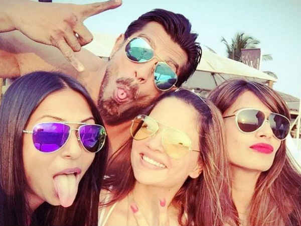 Karan Singh Grover Celebrates His Birthday With Bipasha Basu