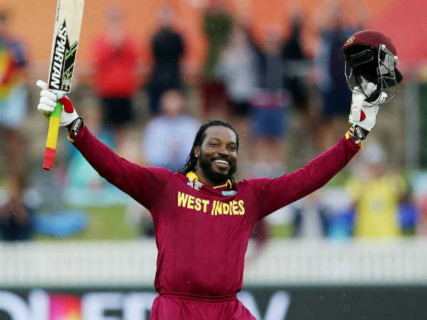 Wc 2015 Chris Gayle Hits First Double Hundred