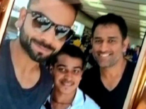 Wc 2015 Virat Kohli Ms Dhoni Both Are Spending Time Together In Perth