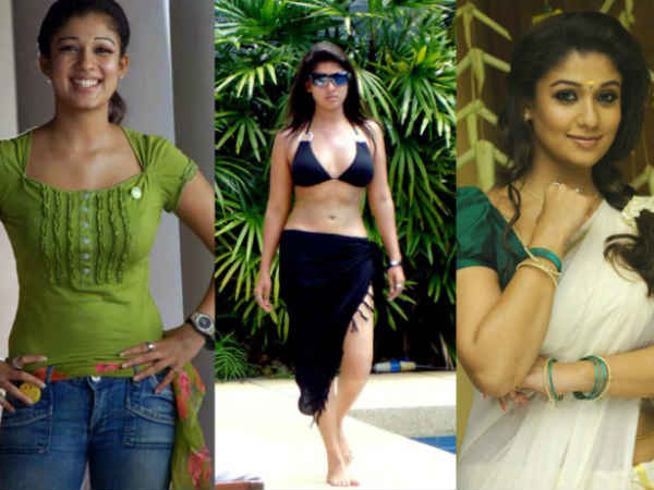 South Indian Actresses In Jeans Bikini Saree
