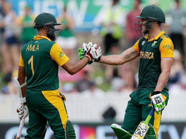 South Africa Gives Target 298 New Zealand World Cup Semifinal