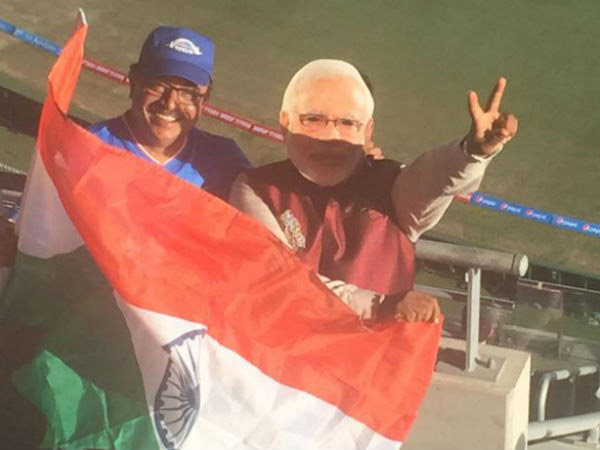 Pics Waoo Narendra Modi Is Watching India Australia Semi Final Sydney