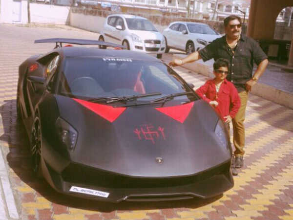 Gujarati Bought Rare Expensive Lamborghini Car